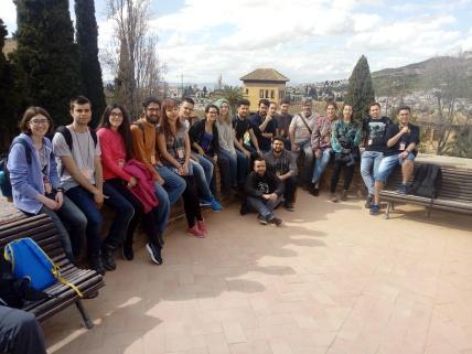 Amantes de los anfibios en la Alhambra