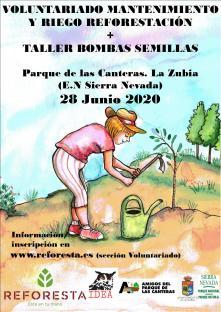 Cartel Canteras REFORESTA verano 20